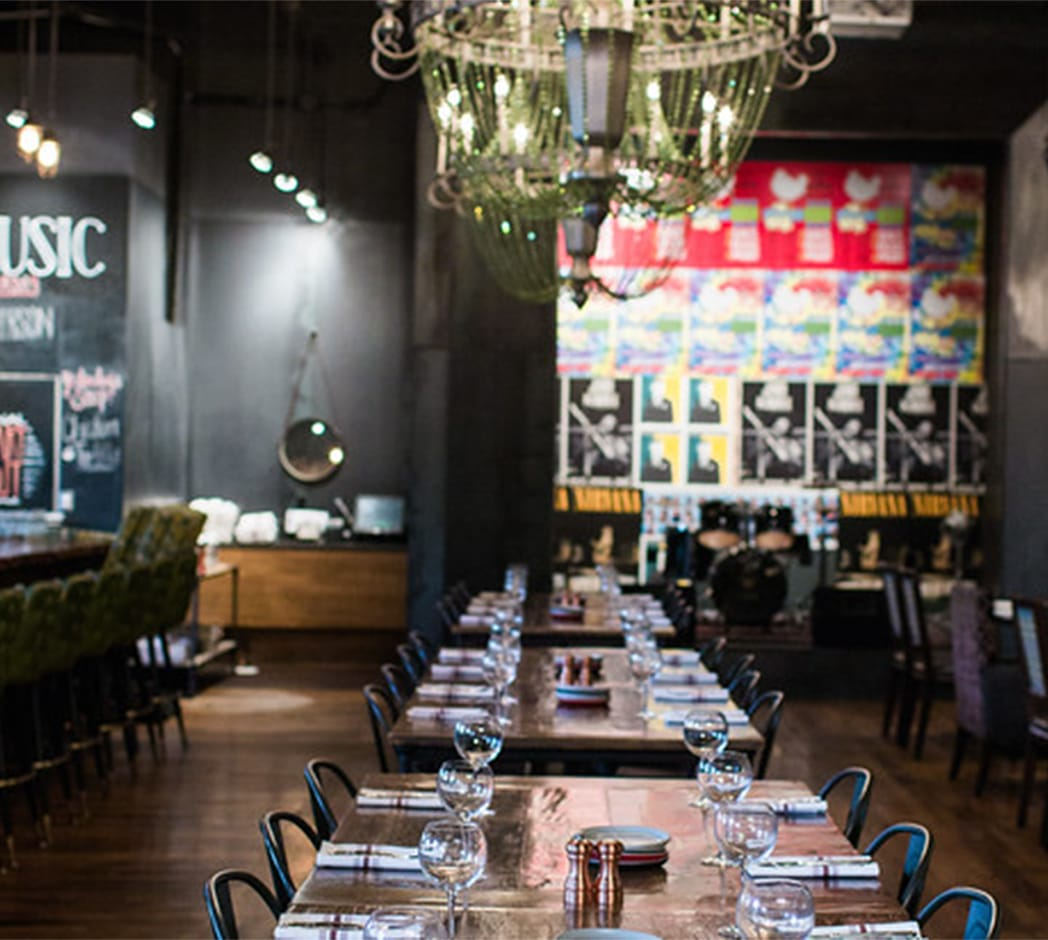 Private dining at Culinary Dropout